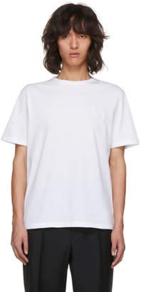 J.W.Anderson White Logo T-Shirt