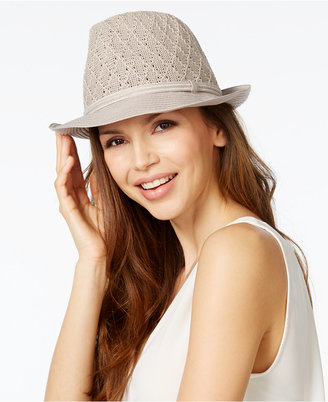Collection XIIX Color Expansion Fedora $28 thestylecure.com