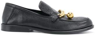 Mulberry Cambridge chain loafers