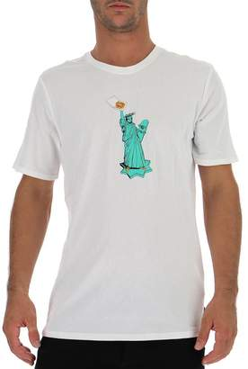 Nike Statue Of Liberty Pizza T-Shirt