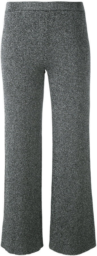 Missoni Missoni wide leg cropped trousers