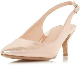 Dorothy Perkins Womens *Head Over Heels By Dune Rose Gold 'Corrin' Heeled Shoes