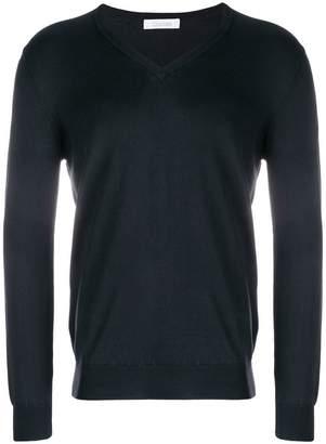 Cruciani v-neck knit sweater