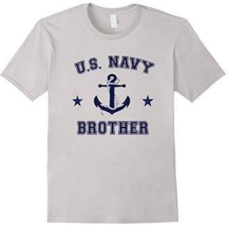U.S. Navy Brother Vintage Anchor Military T- Shirt