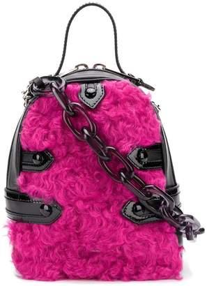 Moschino mini wool backpack