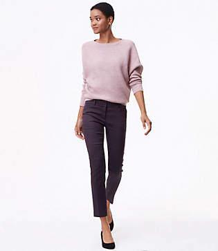LOFT Tall Skinny Petaled Ankle Pants in Marisa Fit