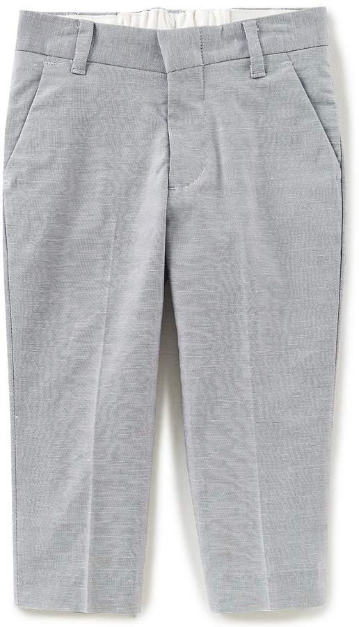 Little Boys 2T-7 Stretch Slub Pants