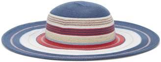 Vince Camuto Striped Wide-brim Hat