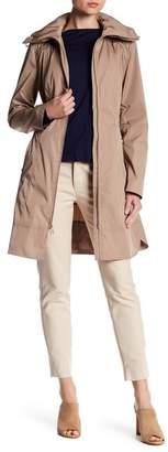 Cole Haan Packable Raincoat $300 thestylecure.com