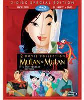 Disney Mulan 15th Anniversary Blu-ray and DVD Combo Pack
