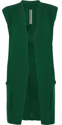 Rick Owens Paneled Cotton Vest