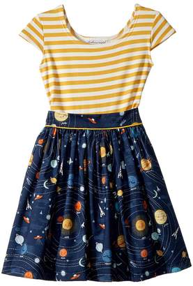 fiveloaves twofish Space Maddy Dress Girl's Dress