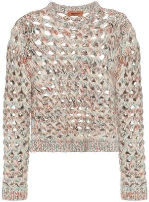 Missoni multicolour loose knit sweater
