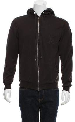 Louis Vuitton Zip-Up Sweater