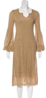 Salvatore Ferragamo Mohair-Blend Sweater Dress