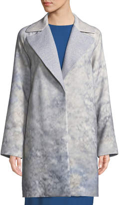 Lafayette 148 New York Wallace Oversize Mid-Length Coat