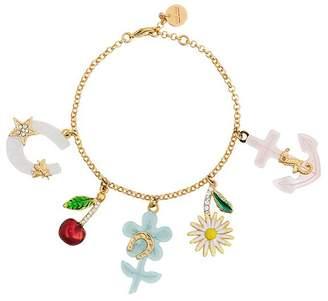 Miu Miu Multicoloured charm bracelet