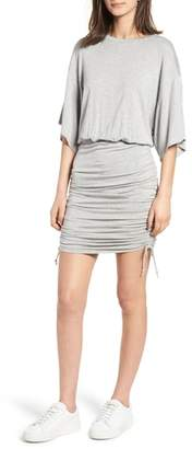 KENDALL + KYLIE Short Sleeve Ruched Dress