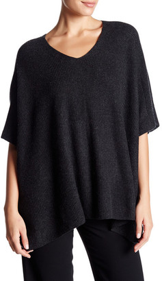 VINCE. Ribbed Cashmere Poncho $445 thestylecure.com