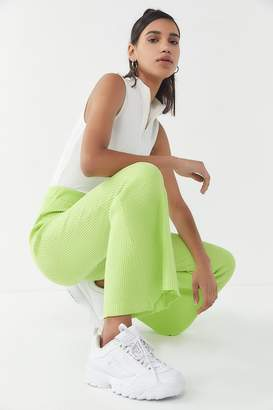 X-girl Ribbed High-Rise Flare Pant
