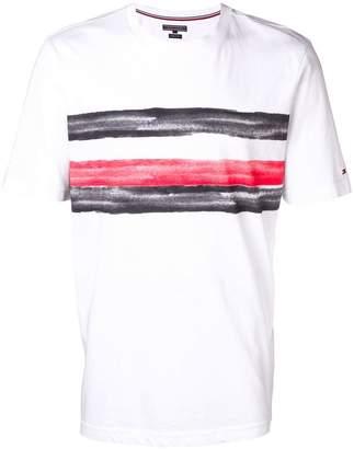 Tommy Hilfiger brushstroke-print T-shirt