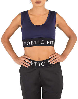 Justice POETIC Poetic Active Sports Bra Top