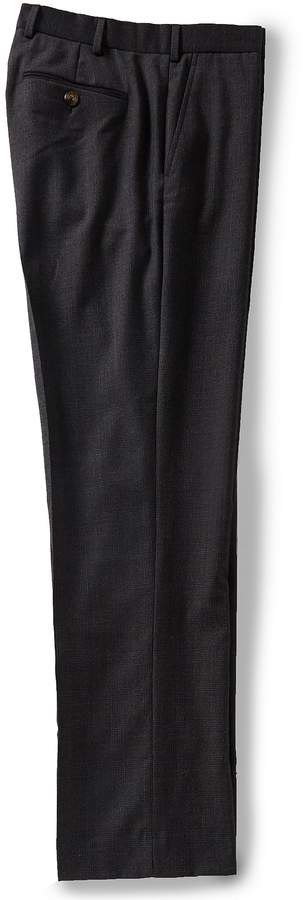 Hart Schaffner Marx Flat Glen Plaid Wool Trouser Pants