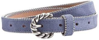 Sandro Jane Suede Leather Belt