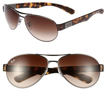 Ray-Ban 'Pilot' 63mm Sunglasses