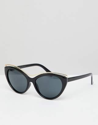 A. J. Morgan AJ Morgan cat eye sunglasses with faded lens