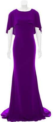 Jovani Overlay-Accented Evening Dress w/ Tags