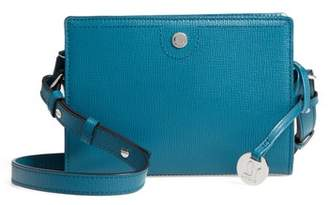 LODIS Los Angeles Business Chic Pheobe RFID-Protected Leather Crossbody Bag