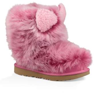 UGG Pinkipuff Classic II Genuine Sheepskin Boot (Toddler & Little Kids)