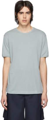 Sunspel Blue Cellular T-Shirt