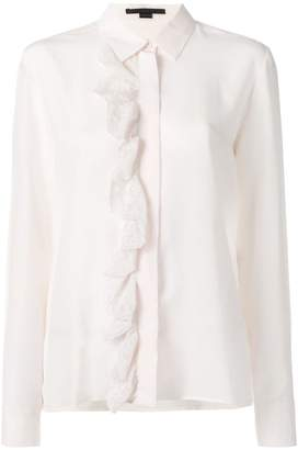 Stella McCartney ruffle lace placket shirt