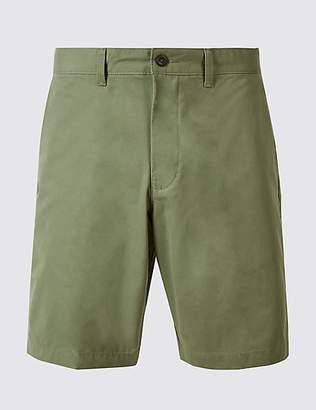 M&S Collection Big & Tall Pure Cotton Chino Shorts