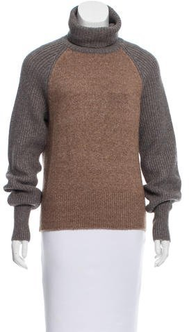Tory Burch Tory Burch Wool-Blend Turtleneck Sweater