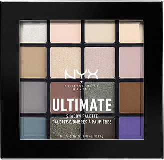 Nyx Cosmetics Ultimate Shadow Palette cool neutrals $17 thestylecure.com