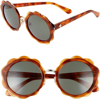 f63cd7fc9fdff Kate Spade Brown Women s Sunglasses - ShopStyle
