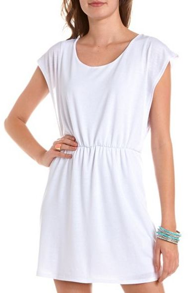 Charlotte Russe Dolman Sleeve A-Line Dress