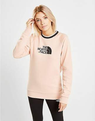 The North Face Tipped Logo Crew Sweatshirt