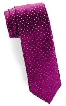 Charvet Medium Dot Silk Tie