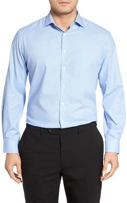 Nordstrom Tech-Smart Traditional Fit Stretch Houndstooth Dress Shirt