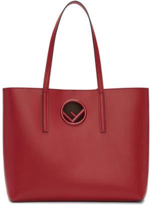 Fendi Red F is Shopper Tote