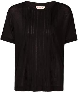 Marni pintuck T-shirt
