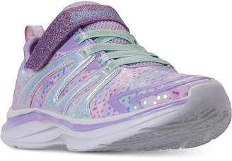 Skechers Little Girls' Double Dreams - Unicorn Wishes Running Sneakers from Finish Line