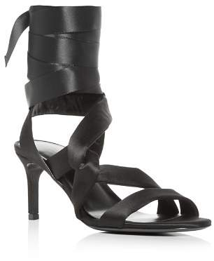 Via Spiga Women's Jett Ankle Tie High-Heel Sandals