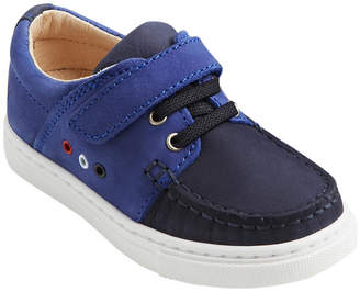 Jacadi Bateau Moc-Stitched Leather Loafer