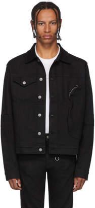 Alyx Black Denim Pocket Jacket