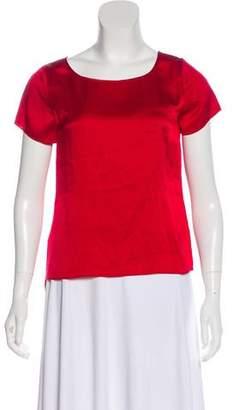 Gryphon Silk Short Sleeve Top